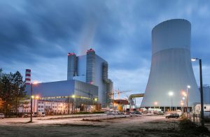 New unit 11 of the Kozienice power plant, Poland.